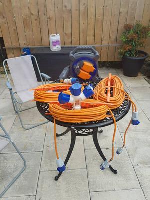 Hook up cables job lot