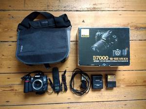 Nikon D Body Plus Extras - Batteries, Remote, Bag