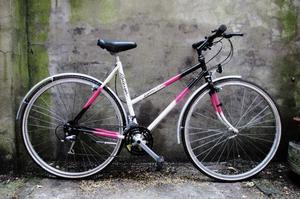 RALEIGH GEMINI TRAIL. 20.5 inch, 52 cm. Reynolds 531. Ladies womens hybrid road bike, 21 speed