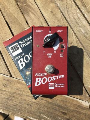 Seymour Duncan Pickup Boost foot pedal
