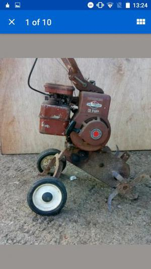 briggs and Stratton rotorvator