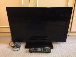"24"" PANASONIC VIERA LED TV FULL HD USB FREEVIEW GREAT CONDITION WITH REMOTE CAN DELIVER"