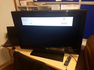 32inch bush tv and remote