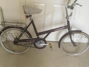 Classic ladies raleigh bike
