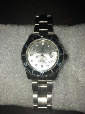 Rolex Submariner White Watch