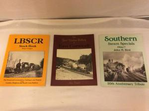 Steam Railway enthusiasts books.