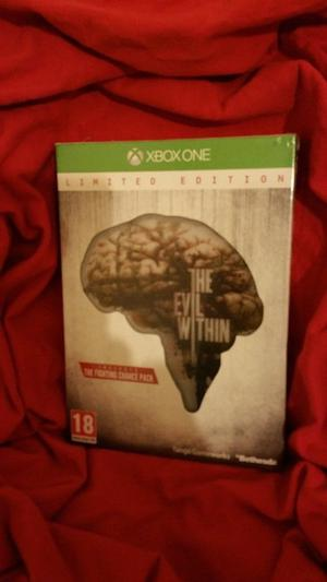 THE EVIL WITHIN XBOX ONE (BRAND NEW AND SEALED)