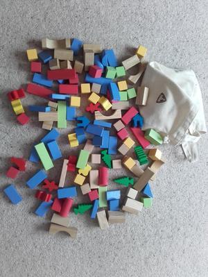 Wooden ELC Bricks plus Additional Shapes