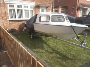 17 foot fishing boat in Sunderland