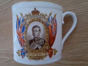 Edward VIII Coronation Mug - Royal Stafford