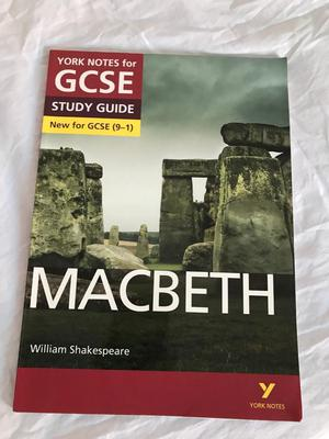 GCSE English Macbeth revision guide