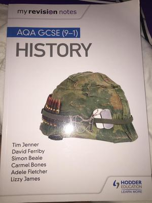GCSE history revision book