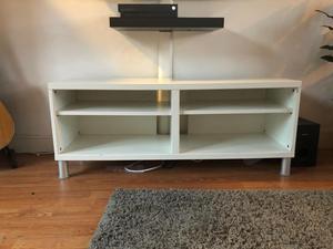 Ikea Besta TV Unit Stand White