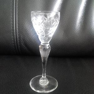 Miniature crystal apperatiffe glasses