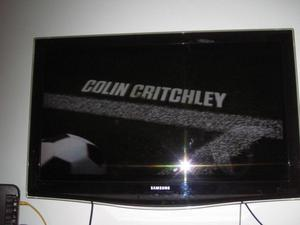 Samsung B inch TV, with wall bracket