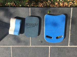 Swim floats and bag - ideal for training