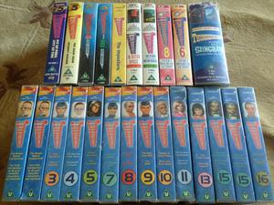Thunderbirds x 25 VHS tapes collection