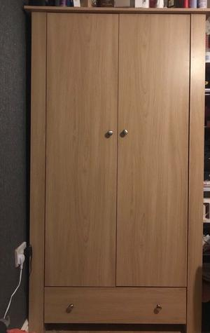 Wardrobe & 2 Sets Of Drawers Great Condition
