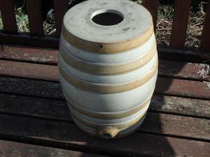 stoneware barrel
