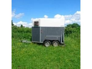 Bockmann Duo Rear Unload trailer horse box horsebox 2 x 17hh