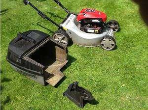 Marsport self propelled petrol mower in Shrewsbury