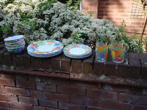 Melamine Dinner Set x 16 pieces