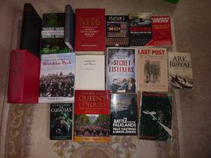 A Collection of War and Military Intelligence Books