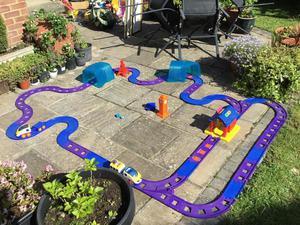Garden train set