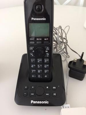 instruction manual for panasonic cordless phone kx tga402