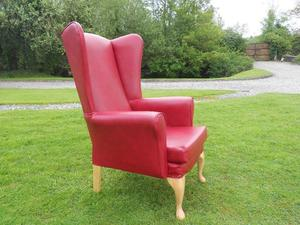 Queen Anne Wingback Armchair------Mobility--------