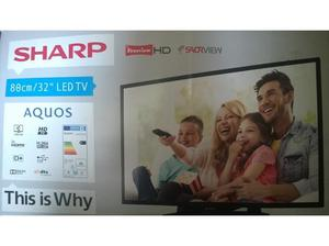 Sharp aquos tv 32 led NEW in Bedworth