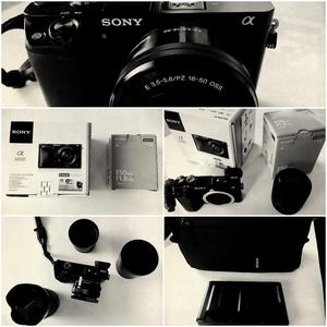 Sony A with Lenses & Accessories