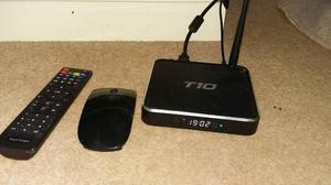 T10 Android box with remote and wireless mouse