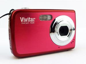 Vivitar Vivicam  Megapixel Digital Camera - Red