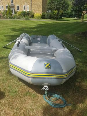 Zodiac inflatable boat