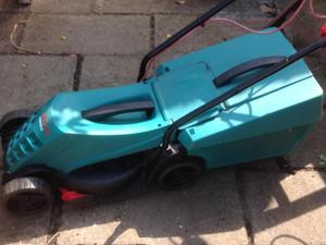 Bosch Rotak corded mower
