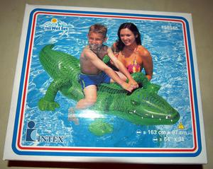Intex Gator Ride On Sealed Inflatable Pool Toy Vintage
