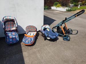 mothercare journey travel system instructions