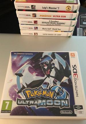 Pokemon Ultra Moon/Sun/Luigi's Mansion 3DS
