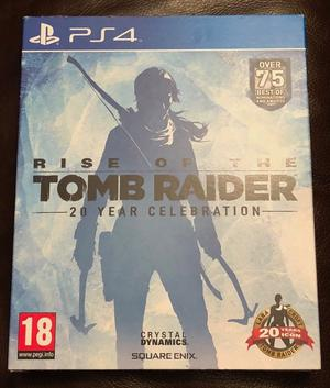 Rise of the Tomb Raider 20 year Artbook PS4