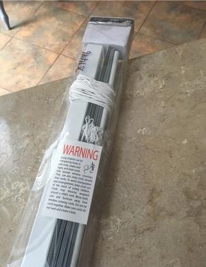 White Aluminium Venetian Blind - New in Box