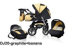 5 in 1 babymerc stroller (including car seat)