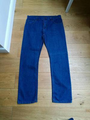 Men's blue jeans size 34 x 34
