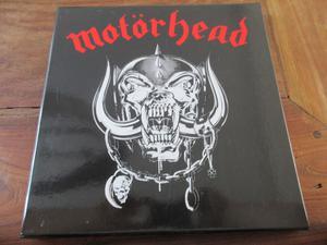 Motörhead Motörhead 3 LP box set on clear vinyl