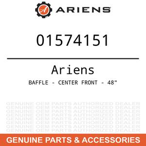 """OEM Ariens Gravely BAFFLE - CENTER FRONT - 48"""""""