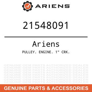 "OEM Ariens Gravely PULLEY. ENGINE. 1"" CRK."