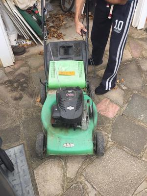 Old Stratton and Briggs Petrol mower