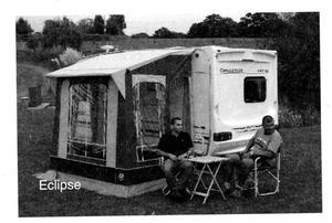 Sunncamp ultima platinum 260 caravan awning | Posot Class