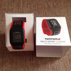 TomTom mult-sports watch with built in hear rate monitor