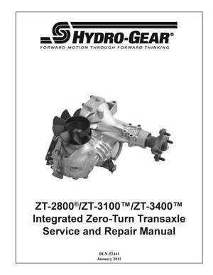 Transmission kit  zt- RIGHT HAND HYDRO GEAR OEM